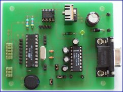AT89C2051/ATtiny2313 evaluation board